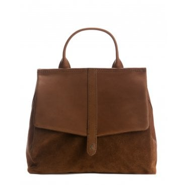 Joules Molton Suede Bag 206373