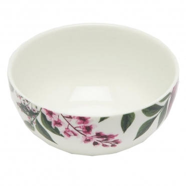 Joules Porcelain Cereal Bowl with Print Detail