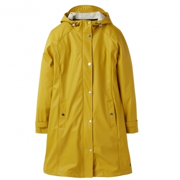 Joules Quayside Womens Waterproof Coated Fabric Raincoat A/W 19