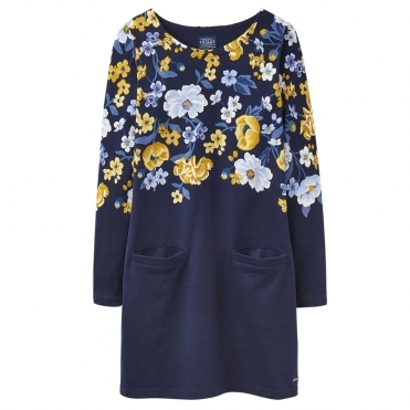 Joules Quinn34 Womens Simple Tunic With Front Pockets S/S 19