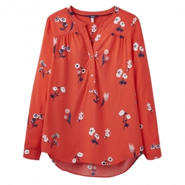 Joules Rosamund Womens Pop Over Blouse S/S 19