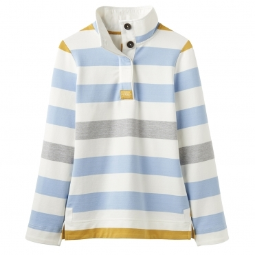 Joules Saunton High Neck Womens Sweat With Pockets (Z)