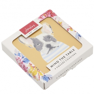 Joules Set Of 4 Cork-Backed Coasters S/S 19