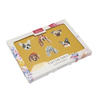 Joules Set Of 4 Cork-Backed Placemats S/S 19