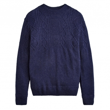 Joules Shipton Cable Knit Mens Jumper (X)