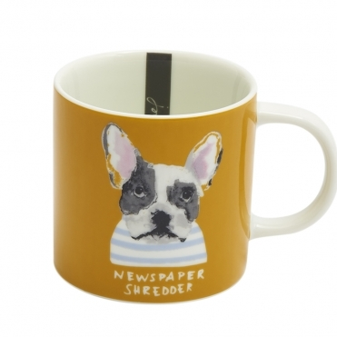 Joules Single Small Porcelain Printed Mug S/S 19