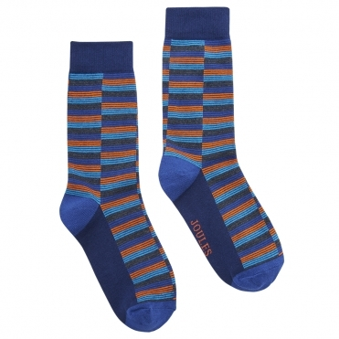 Joules Striking Single Mens Cotton Single Socks S/S 19
