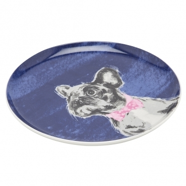 Joules Teaplate Porcelain Side Plate Withprinted Decal (Z)