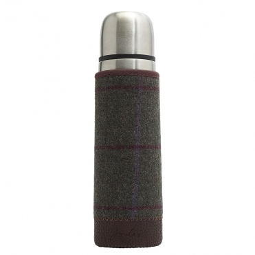 Joules Tweed Covered Flask S/S 19