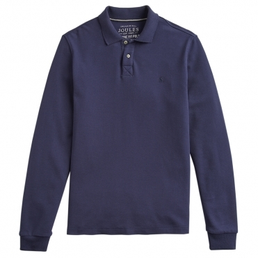 Joules Woodwell Mens Long Sleeve Classic Fit Polo S/S 19