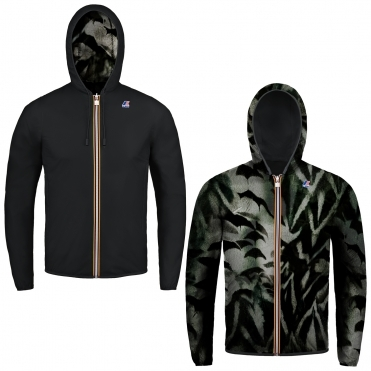 K-Way Jacques Plus Double Graphic Mens Jacket