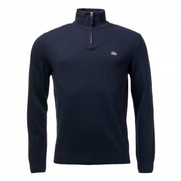 Lacoste Mens Half Zip Sweater AH1682-00