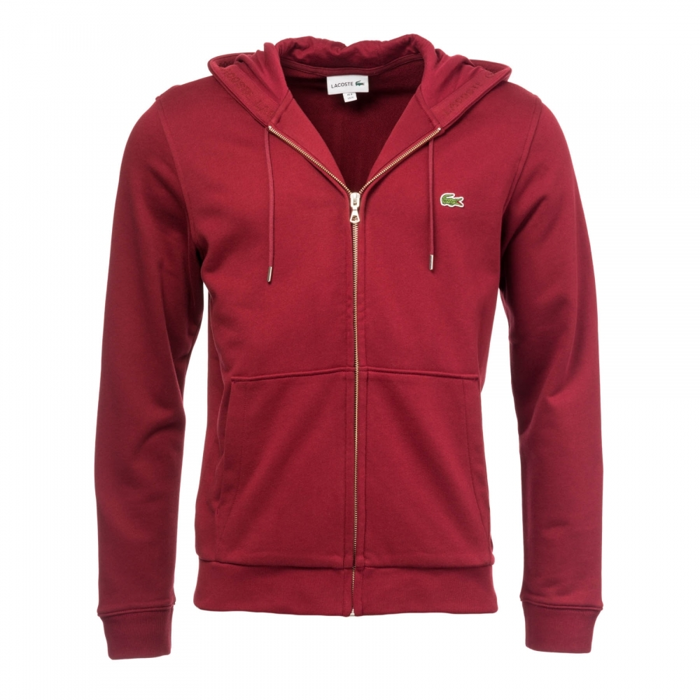huge selection of ccf97 fe866 Lacoste Lacoste Mens Hooded Sweat Top SH4286-00