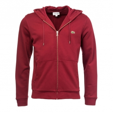 Lacoste Mens Hooded Sweat Top SH4286-00