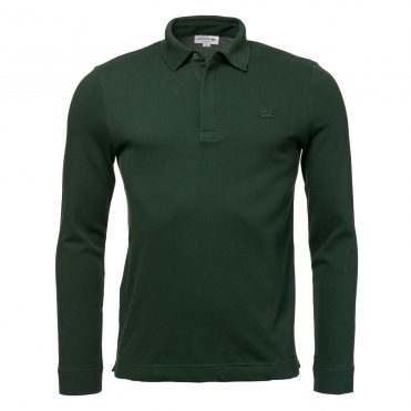 Lacoste Mens Long Sleeve Polo Shirt PH9435-00