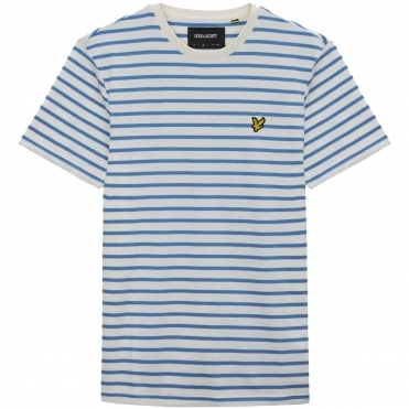 Lyle & Scott Breton Stripe Mens T-Shirt