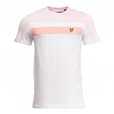 Lyle & Scott Colour Block Mens T-Shirt