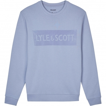 Lyle & Scott Flock Logo Mens Sweatshirt