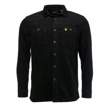 Lyle & Scott Mens Cord Overshirt