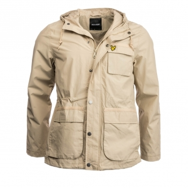 Lyle & Scott Mens Hooded Jacket
