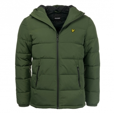 Lyle & Scott Mens Wadded Jacket