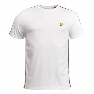 Lyle & Scott Side Stripe Mens T-shirt