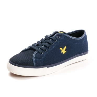 Lyle & Scott Teviot Mens Knit Plimsolls