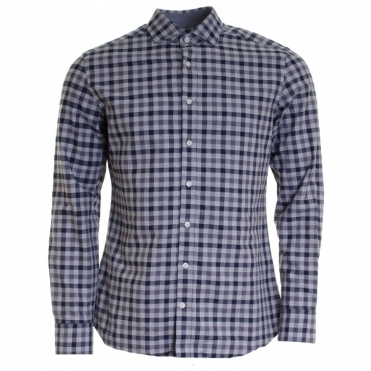 Melange Gingham Mens Shirt (AW16)
