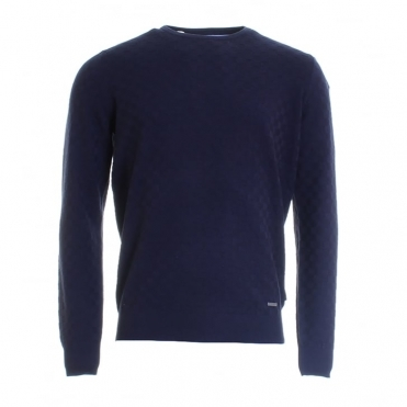 O-Neck Structure Mens Jumper (S/S 16)