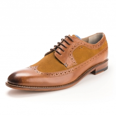 Oliver Sweeney Endellion Mens Derby Brogue Shoe