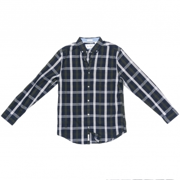 Original Pengiun Long Sleeve Nep Plaid Mens Top