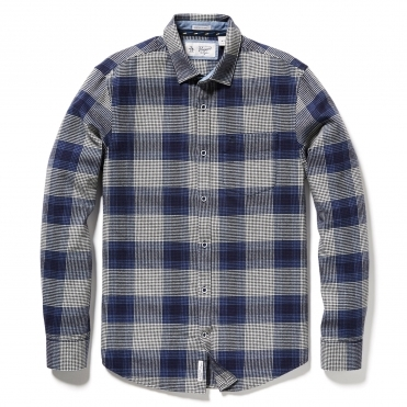 Original Penguin Brushed Flannel Check Mens Shirt