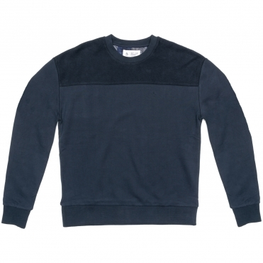 Original Penguin Long Sleeve Drop Shoulder Mens Crew