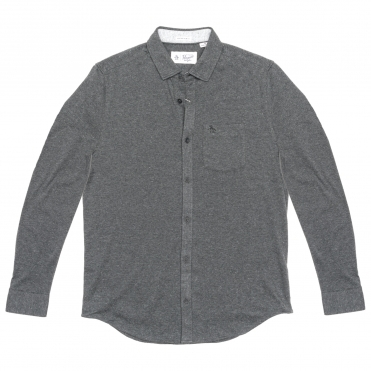 Original Penguin Long Sleeve Knitted Nep Mens Shirt