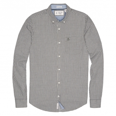 Original Penguin Mini Dot Gingham In Mens Shirt