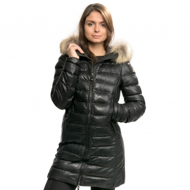 Parajumpers Demi Leather Womens Jacket