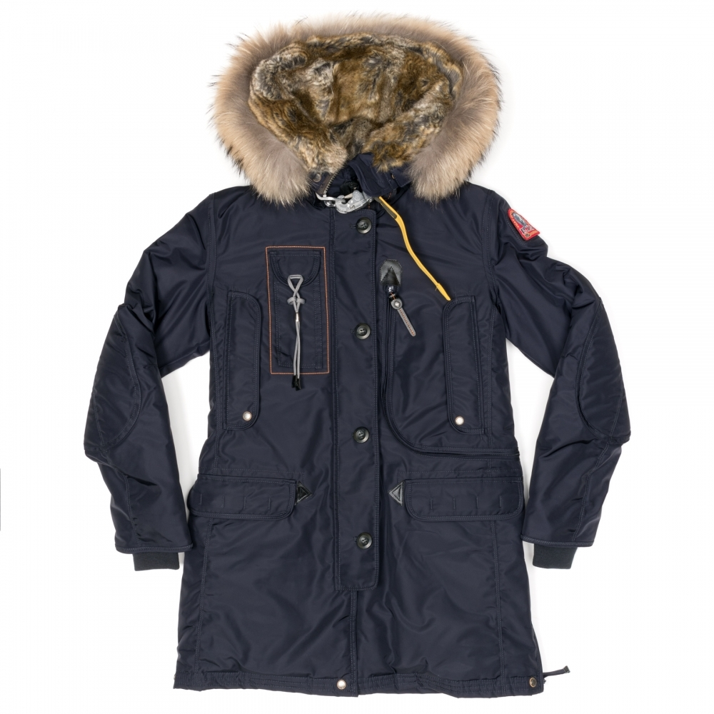 new arrival ef69c 2c03e Kodiak Womens Hooded Long Parka