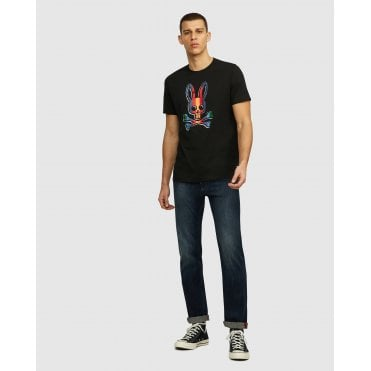 Psycho Bunny Brooksbank Mens Tee Shirt
