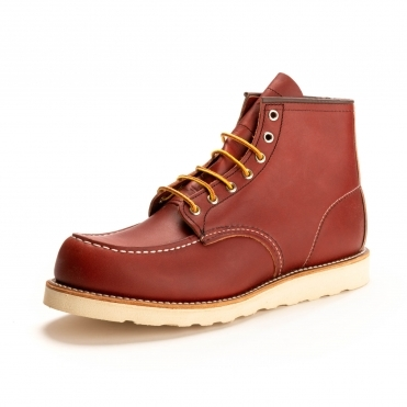 6 Inch Moc Toe Mens Boot