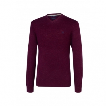 Richmond Merino V Neck Mens Jumper