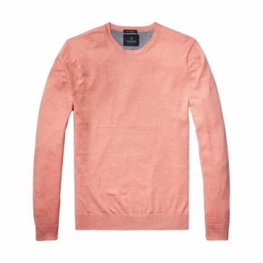 Scotch & Soda Classic Crewneck Mens Pullover