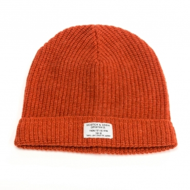 Scotch & Soda Mens Classic Beanie