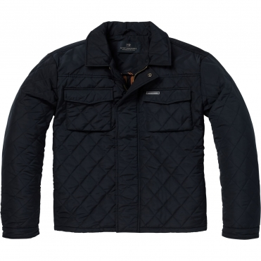 Scotch & Soda Mens Classic Quilted Shirt Jacket