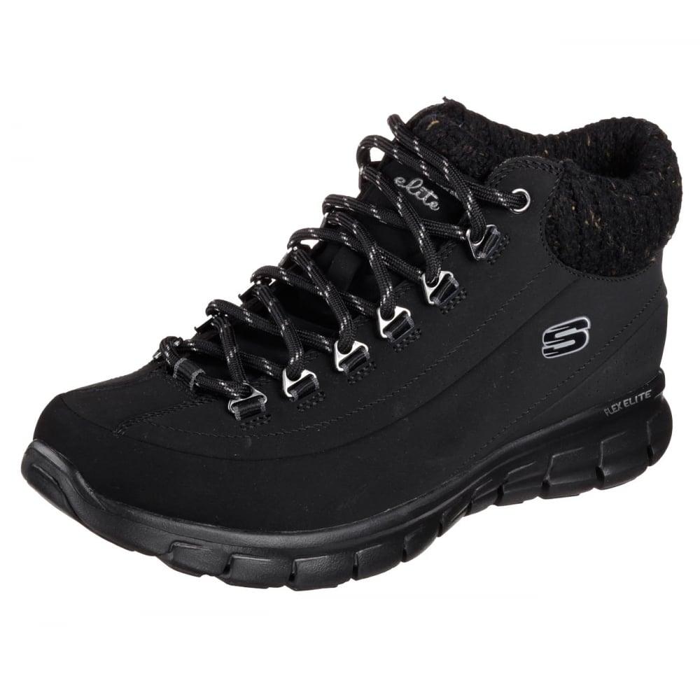 Skechers Synergy Winter Nights Ladies Shoe