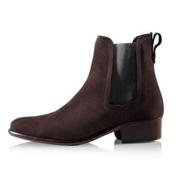 Suede Chelsea Womens Boot