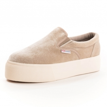 Superga 2314 Velvetw Womens Shoe