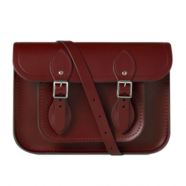 The Cambridge Satchel Company 11 Magnetic Oxblood Womens Satchel
