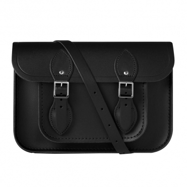 The Cambridge Satchel Company 11 Magnetic Satchel MBN - Black