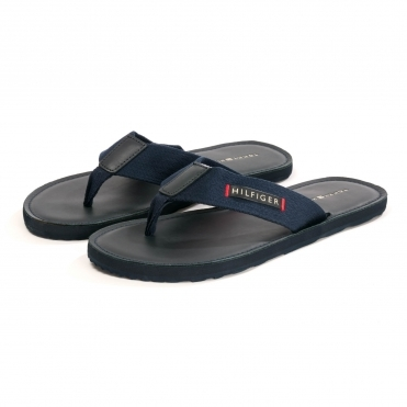 Tommy Hilfiger Leather Beach Mens Sandal