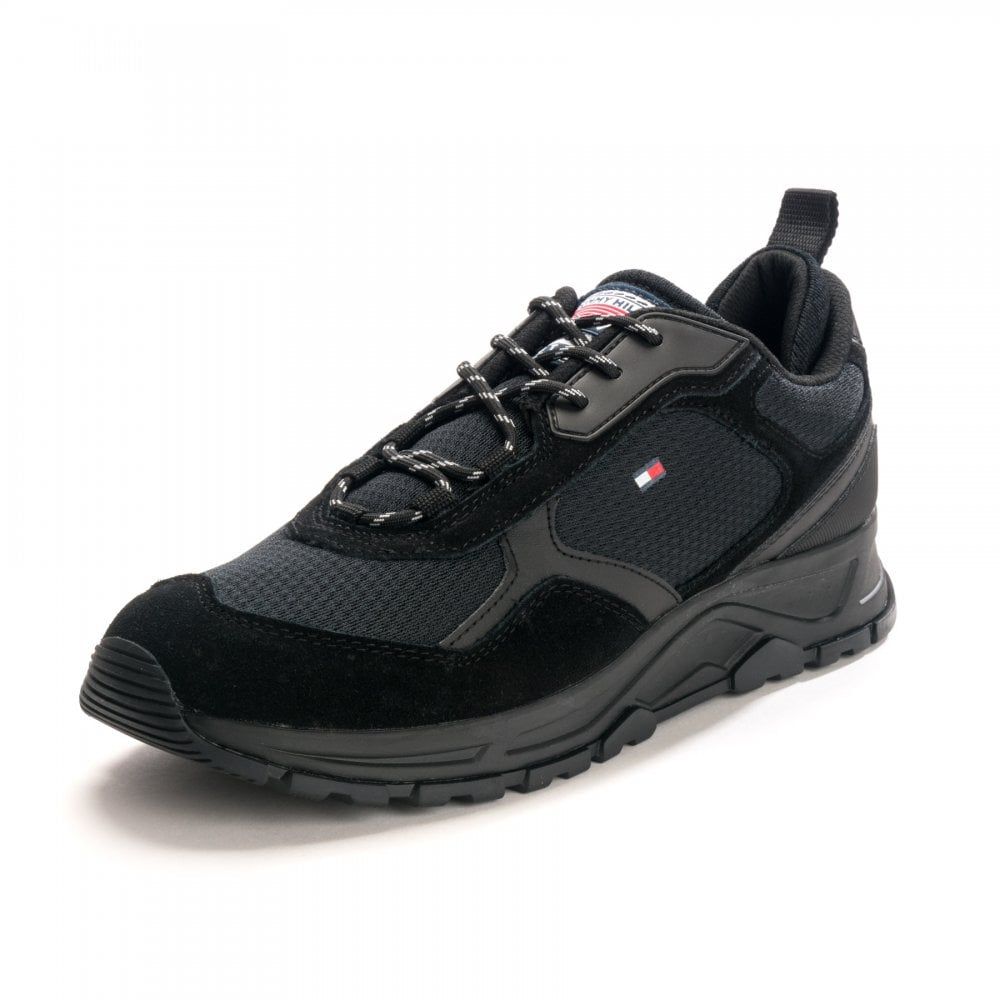 Tommy Hilfiger Tommy Hilfiger Mens Fashion Mix Sneaker FM0FM02582